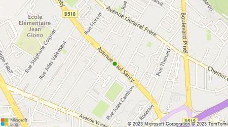 Plan d'accès au taxi Cab Locations