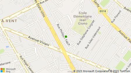 Plan d'accès au taxi Benasna Ghali