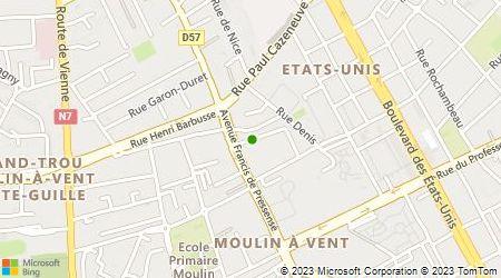 Plan d'accès au taxi Ait El Hadj Abdelaziz