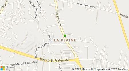 Plan d'accès au taxi Pichat René