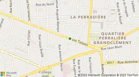 Plan d'accès au taxi Vella Christophe