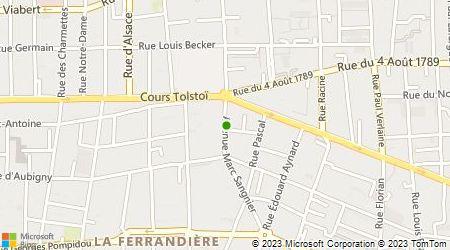 Plan d'accès au taxi Tlidjane Mounir