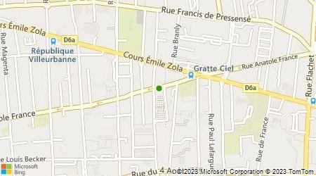 Plan d'accès au taxi Taxi François