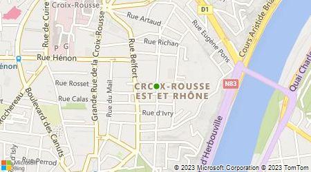 Plan d'accès au taxi Accueil Taxi Radio