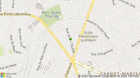 Plan d'accès au taxi Taxi Sofie taxi