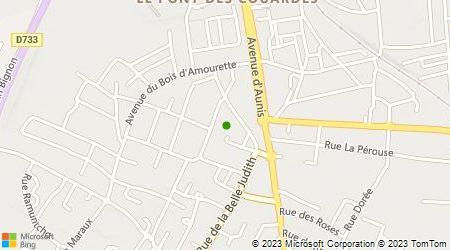 Plan d'accès au taxi Dayraut Laurent