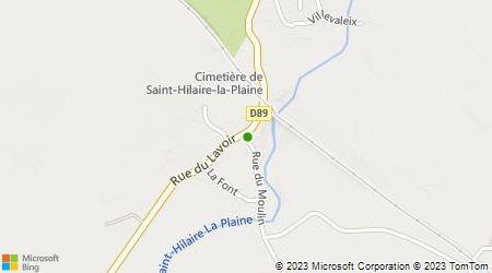 Plan d'accès au taxi A.B.C. Taxi Laurent