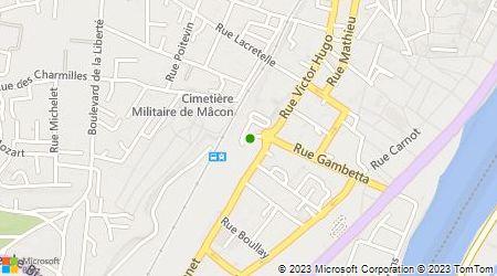 Plan d'accès au taxi Castagna Michel