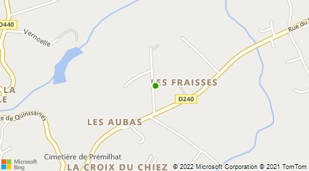Plan d'accès au taxi Allier Demessant Taxi