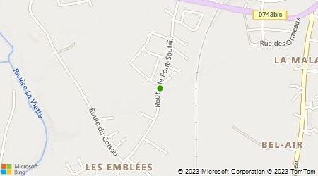 Plan d'accès au taxi Ambulances 2 Sèvres Ambulances