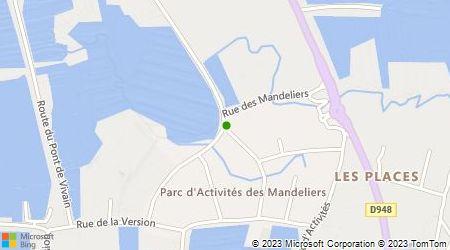 Plan d'accès au taxi Ambulance Agréée Marc Renoux