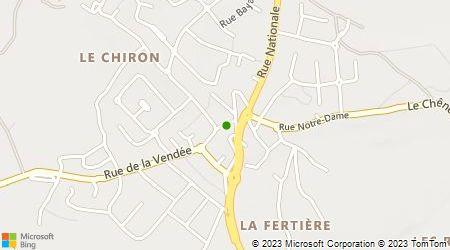 Plan d'accès au taxi Herbert Jérôme