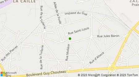 Plan d'accès au taxi Accueil Taxi (Sarl)