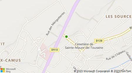 Plan d'accès au taxi Taxis Champigny