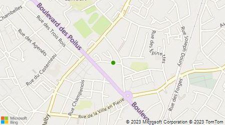 Plan d'accès au taxi AGS Taxi d'Ivoire