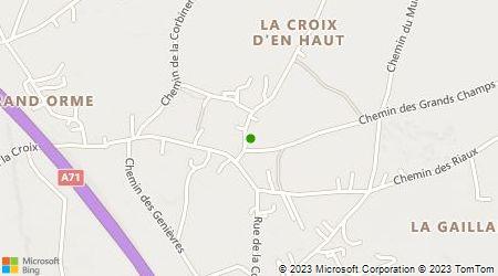 Plan d'accès au taxi Allo Taxi Leban