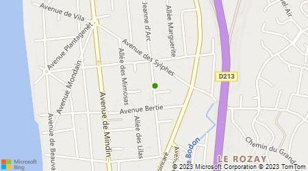 Plan d'accès au taxi Allo Saint Brévin Taxis