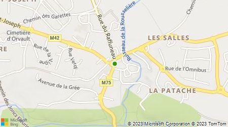 Plan d'accès au taxi Taxi Allo Taxi Nantes Atlantique