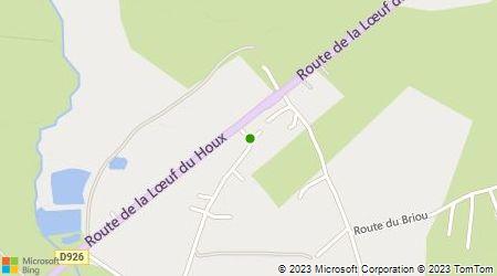 Plan d'accès au taxi Lelong Jean-Paul