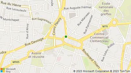 Plan d'accès au taxi Taxi AMG (Eurl)