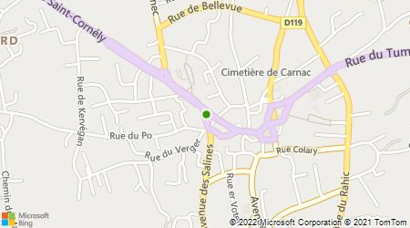 Plan d'accès au taxi Guimard Yann