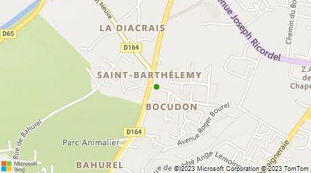 Plan d'accès au taxi Alliance Taxis Pays de Redon (Sarl)