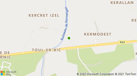 Plan d'accès au taxi AAD Taxi KERNEUR