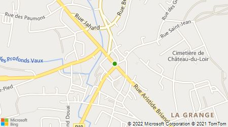 Plan d'accès au taxi Allo Taxi D. Rocheron (Dominique)
