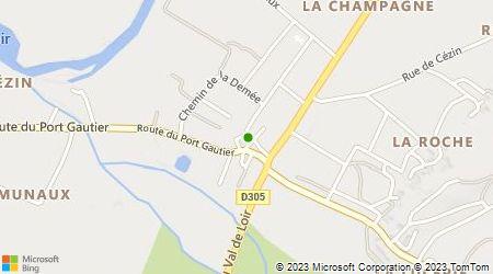 Plan d'accès au taxi Allo Taxi Rocheron E.