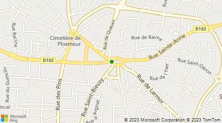 Plan d'accès au taxi GIE des Radios Taxis Côtiers