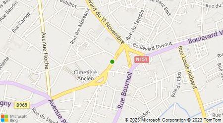 Plan d'accès au taxi Bescou Cristina
