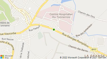 Plan d'accès au taxi Taxi Azur-Abba