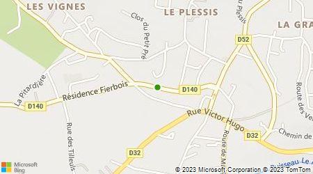 Plan d'accès au taxi Fouqueray et Fils (SARL)