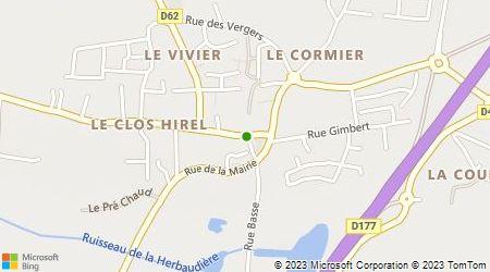 Plan d'accès au taxi Breton Thierry