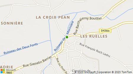 Plan d'accès au taxi Allain Jean-Luc