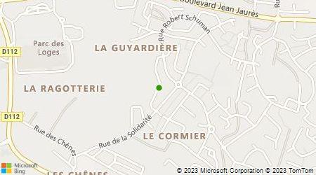 Plan d'accès au taxi A.D.S Taxi Laval