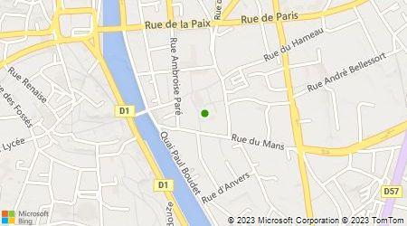 Plan d'accès au taxi A.S.D Taxi Laval