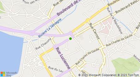 Plan d'accès au taxi Taxi Balland-Germain