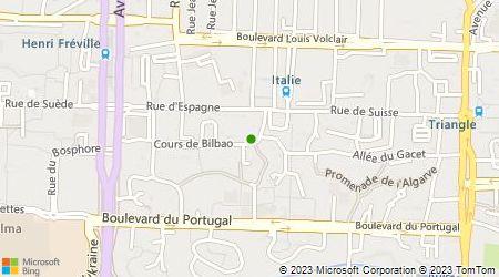 Plan d'accès au taxi Car Service Taxi Rennes