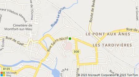 Plan d'accès au taxi LSA (Lesaffre Service Assistance)