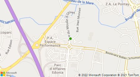 Plan d'accès au taxi Gaillard Taxi