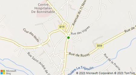 Plan d'accès au taxi Ambulance BEREAU-DUCHAINE