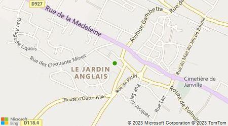 Plan d'accès au taxi Ambulance Et Taxis De Janville