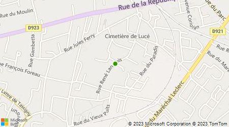 Plan d'accès au taxi Accueil Taxi Services