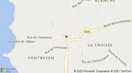 Plan d'accès au taxi Allo Taxi Du Colombier
