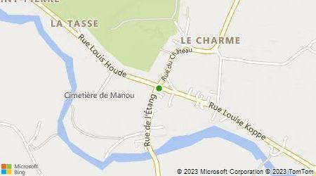 Plan d'accès au taxi Accueil Taxi Loupéen