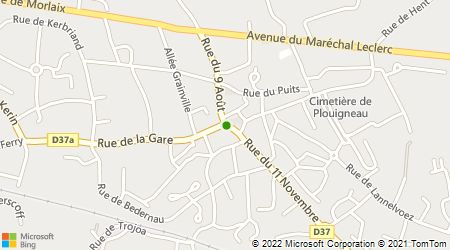 Plan d'accès au taxi Taxi Renée Madec