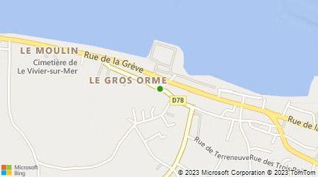 Plan d'accès au taxi Taxi Saint Broladre
