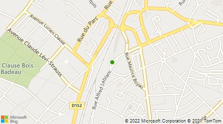 Plan d'accès au taxi ABC Brétigny Taxi Gare - gare