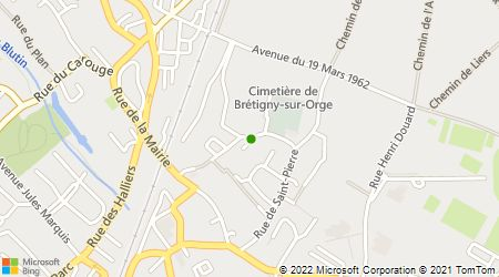 Plan d'accès au taxi ABC Bretigny Taxi Gare